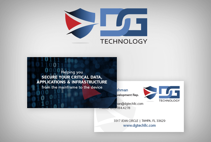 DG Tech Card and Logo