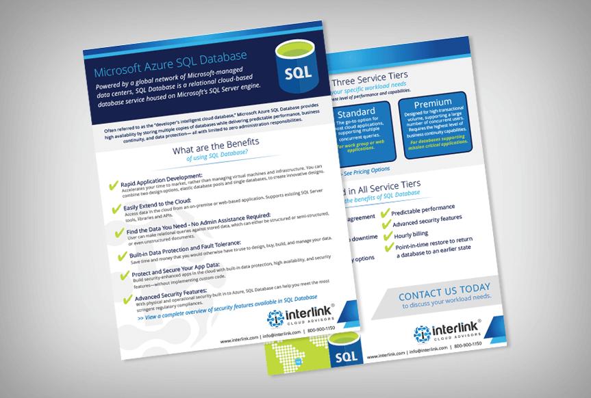 Interlink SQL Azure Brochure