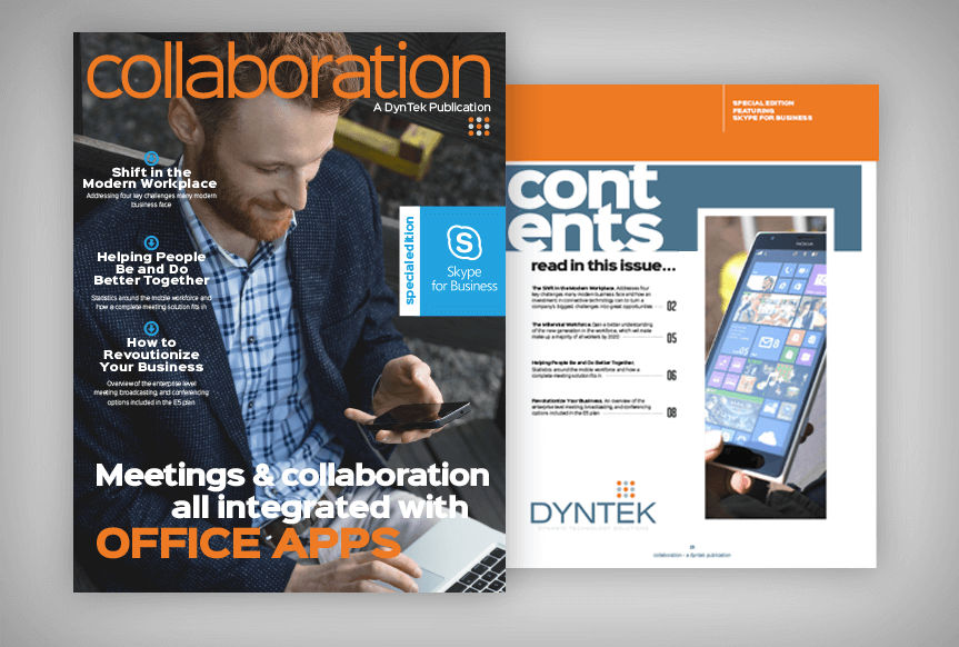 collaboration magazine- DynTek